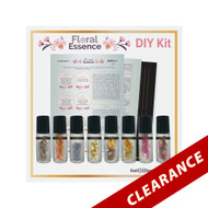 Floral Essence Essential Oil Do It Yourself Kit | Dried Flower Collection