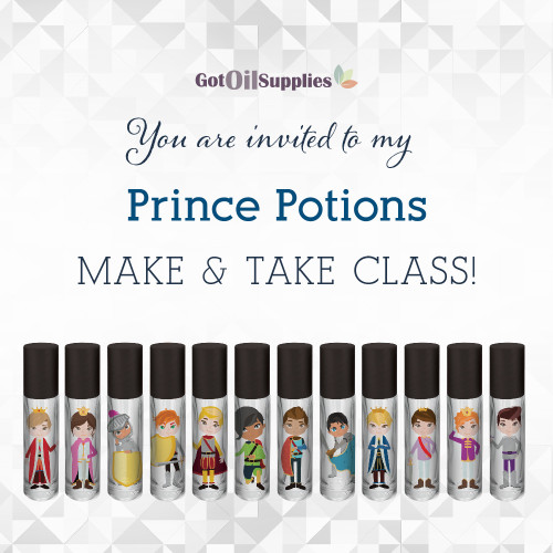 FREE Prince Potions eInvite For Social Media and Email Campaigns