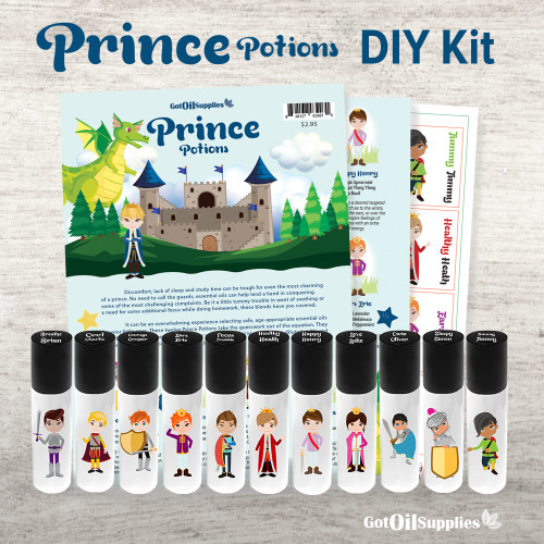 Prince Potions DIY Kit | All The Essential Oil Supplies You Need