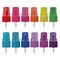30ml Euro Style Glass Amber Essential Oil Bottles with Color Sprayers