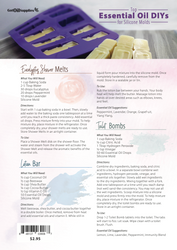 Top Essential Oil DIYs For Silicone Molds Recipe Sheets