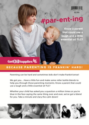 Parenting Essential Oil Recipe Sheets | #parenting #par-ent-ing