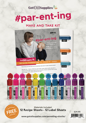 Parenting Essential Oil Make and Take Workshop Kit | #parenting #par-ent-ing