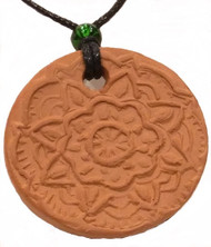 Mandala Terracotta Necklace
