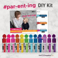 Parenting Essential Oil Do It Yourself Kit | #parenting #par-ent-ing