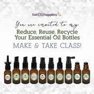 FREE Downloadable Reduce Reuse Recycle eInvite For Social Media and Email Campaigns