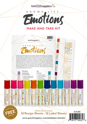 Aroma Life Emotions Essential Oil Make and Take Workshop Kit