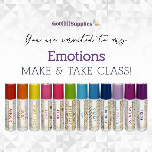 FREE Downloadable Aroma Life Emotions eInvite For Social Media and Email Campaigns