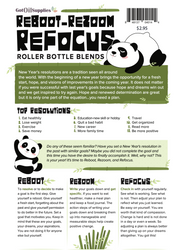 Reboot Rezoom Refocus Essential Oil Recipe Sheets
