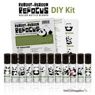 Reboot Rezoom Refocus Essential Oil Do It Yourself Kit
