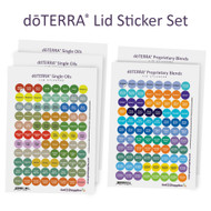 dōTERRA® Essential Oil Cap Stickers Complete Set