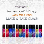 Body, Mind, and Spirit eInvite