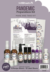 Pandemic Preparedness Essential Oil Make and Take Kit