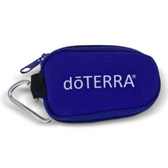 dōTERRA Purple Keychain Essential Oil Personal Travel Bag For 2 ml Glass Bottles and Rollerball Bottles