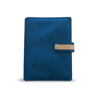 Navy Blue Content Management System Notebook Binder For Essential Oils