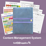dōTERRA® Gray and Purple Content Management System