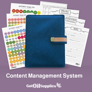 dōTERRA® Blue Content Management System for Essential Oils