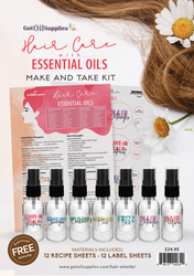 Hair Care with Essential Oils Make & Take Kit