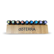 dōTERRA® Bamboo Wood Display Rack For Essential Oil Roller Vials