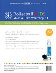 Rollerball Kids Make And Take Workshop Kit For Essential Oils