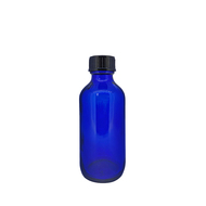 2oz. Glass Essential Oil Bottles | 60ml Blue