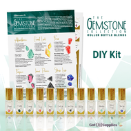 Gemstone Collection | Essential Oil Roller Bottle DIY Kit