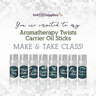 Aromatherapy Twists Carrier Oil Sticks Collection einvite