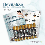 Revitalize Skin Care Do It Yourself Essential Oil Kit