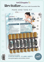 Revitalize Skin Care Essential Oil Make and Take Kit