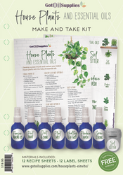 House Plants & Essential Oils Make & Take Kit