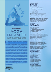 Yoga Enhanced with Essential Oils Recipe Sheets (front side only)