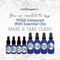 FREE Downloadable Yoga with Essential Oils Collection eInvite for Social Media and Email Campaigns