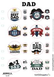 Dad Label Sheet | Labels for your Father