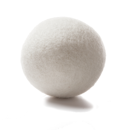 100% Premium Wool Dryer Balls, Natural White, Organic Fabric Softener, Reusable, Great Quality