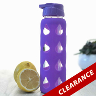 Purple Essential Oil Water Bottle