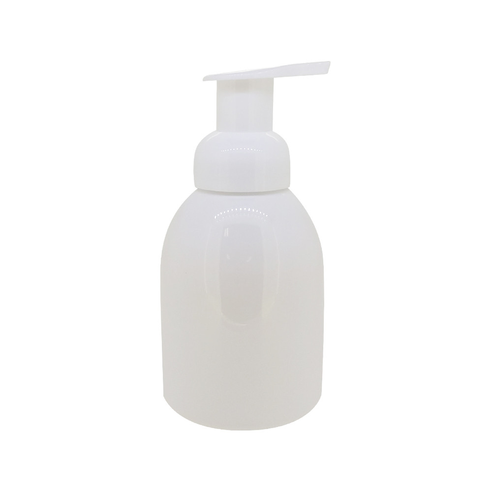 10 Oz White Plastic Foaming Soap Dispenser Pump Pet