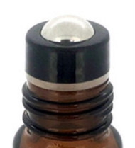 Stainless Steel Metal Rollerball Inserts For Clear and Amber Roll On Vials