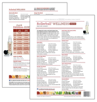 Rollerball Wellness Make and Take Essential Oil Workshop Kit Recipe Sheet Tear Pad