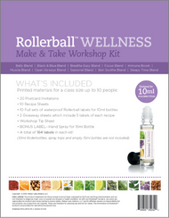 Rollerball Wellness Make And Take Workshop Kit For Essential Oils