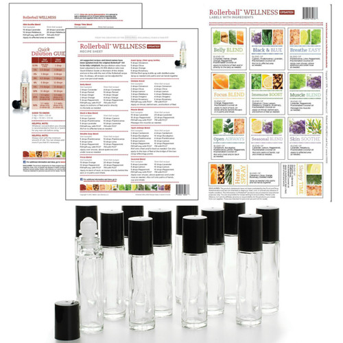 Rollerball Wellness Do It Yourself Essential Oil Workshop Kit