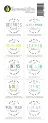 Green and Clean with Essential Oils Labels