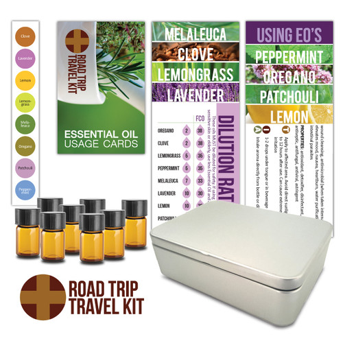 Road Trip Travel Essential Oil Do It Yourself Kit