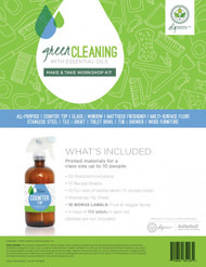 Green Cleaning With Essential Oils Make & Take Workshop