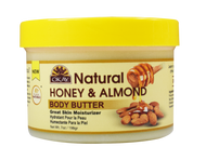 100% Natural Smooth Honey and Almond Butter 7 oz. Jar For Skin and Hair