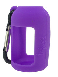 Purple Silicone Sleeve Holder For 15ml Boston Round Essential Oil Containers