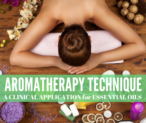 AROMATHERAPY TECHNIQUE CLASS FOR ESSENTIAL OILS