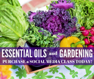 Essential Oils and Gardening Compliant Online Facebook Class
