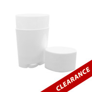 70 ml White Deodorant Tube Container Stick