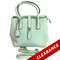 Shelly | Aqua Mint Essential Oil Designer Purse with Silver Hardware