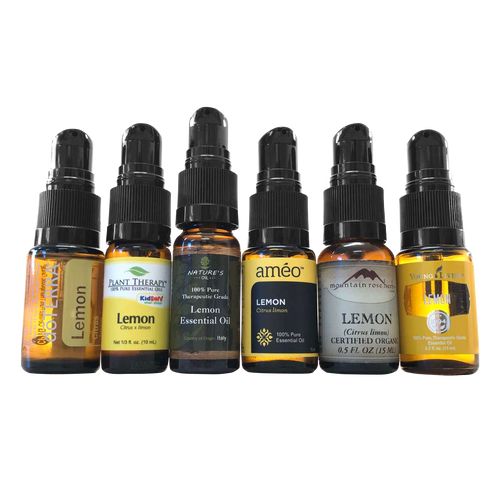 Black Cream Pumps for doterra, young living, plant therapy, ameo, natures oil, mountain rose herbs and rocky mountain Essential Oil Glass Bottles, Vials And Containers